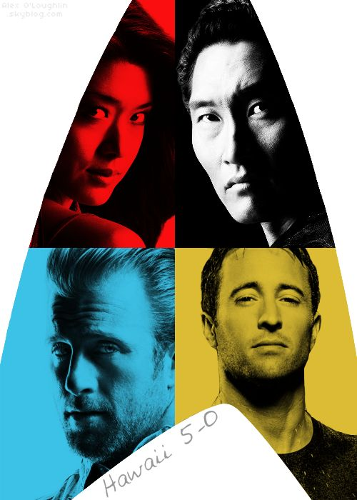 Hawaii 5-0. Missing my weekly dose of Steve McGarrett