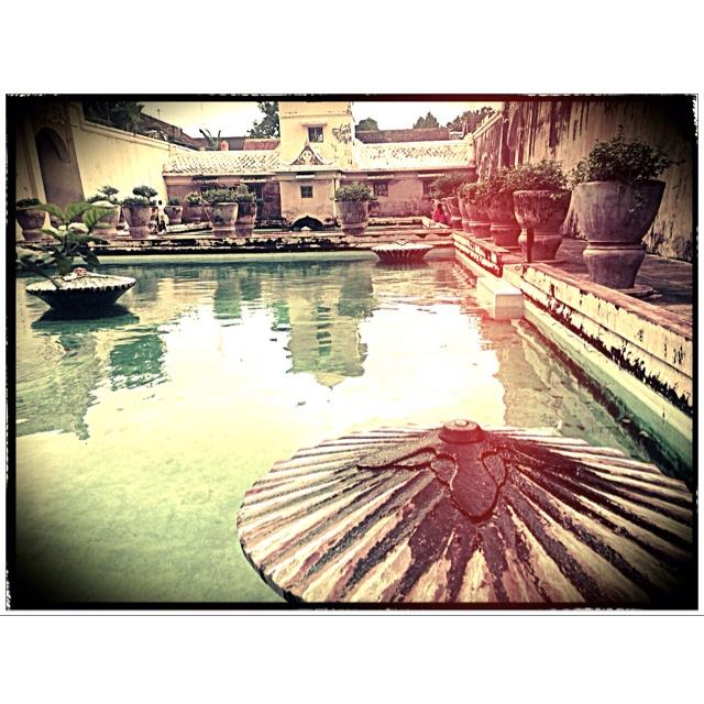 Taman Sari - A heritage water castle. Jogjakarta, Indonesia.