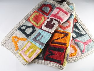 Knitting Pattern Alphabet Blanket : 1000+ images about Knitting - Knit for Kids on Pinterest ...