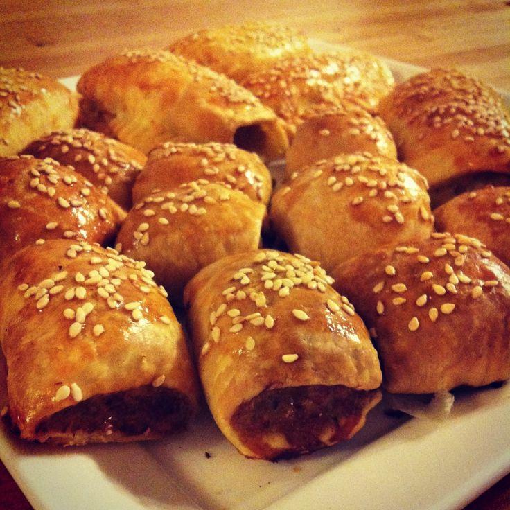 Homemade Chicken and Veggie Sausage Rolls – Recipe