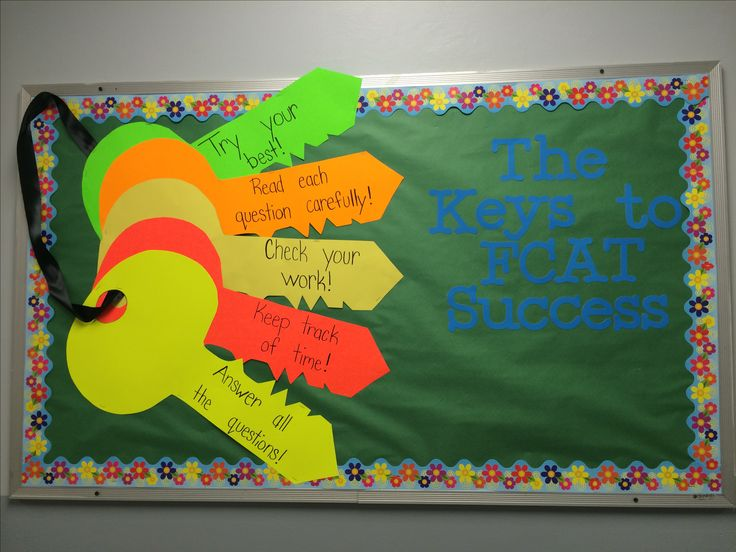 Keys to success on the FCAT bulletin board