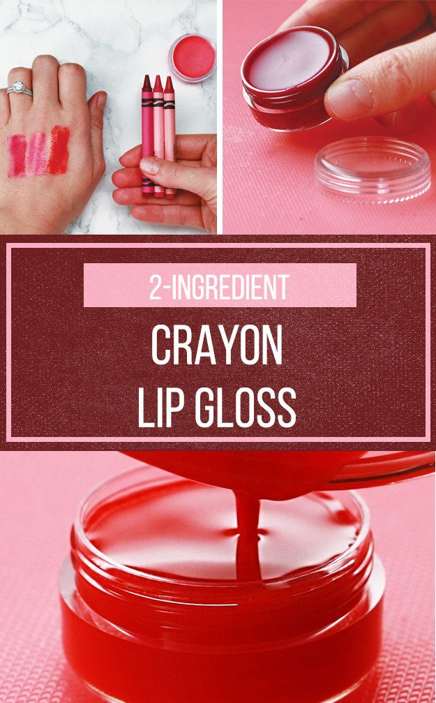 This DIY Lip Gloss Won't Break The Bank But It Will Break Some Crayons