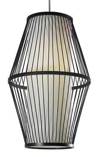 LAMPE SUSPENDUE EN BAMBOU | Code BMR :036-1521