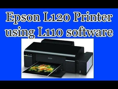 Epson L120 printer using L110 software | Computer Tuts