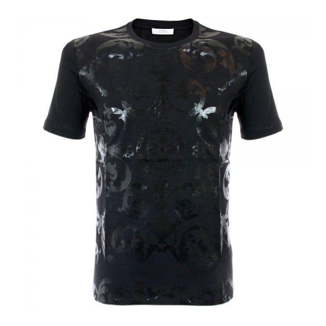 Versace Online store | Girocollo Metal Black T-Shirt