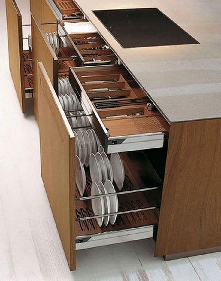49 Smart Kitchen Storage Ideas Modern Kitchen Cabinet Design