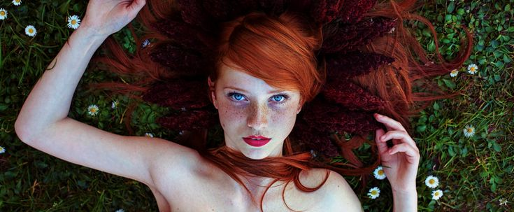 These Photos Will Make You Envious of Your Redhead Girlfriend