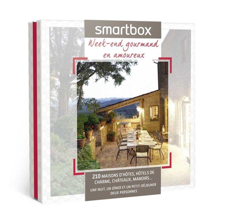 SMARTBOX - Coffret Cadeau - Week-end gourmand en amoureux: Amazon.fr: Hygiène et Soins du corps
