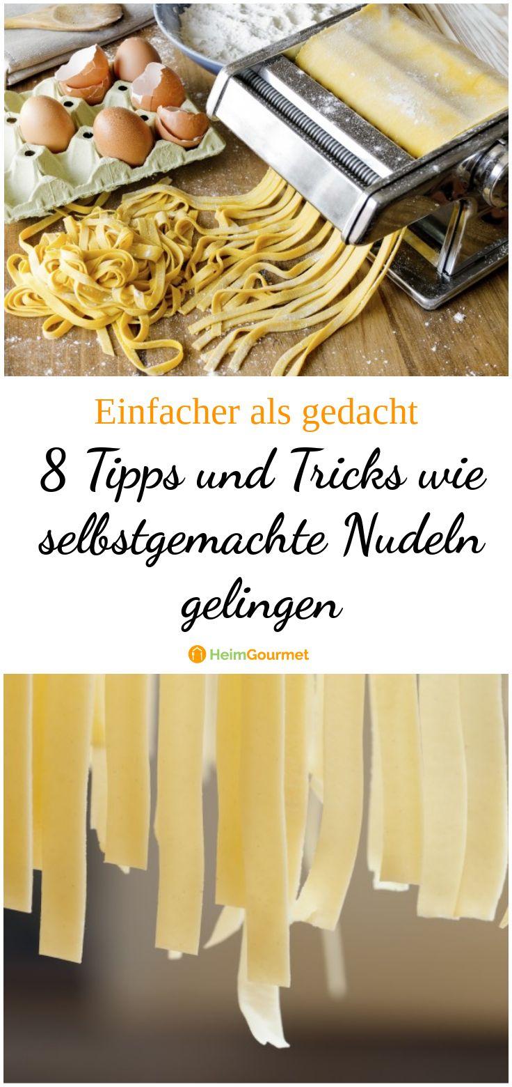 NUDELN kochen wie ein PRO! 8 Tipps, die Ihr vom Profi lernen könnt!