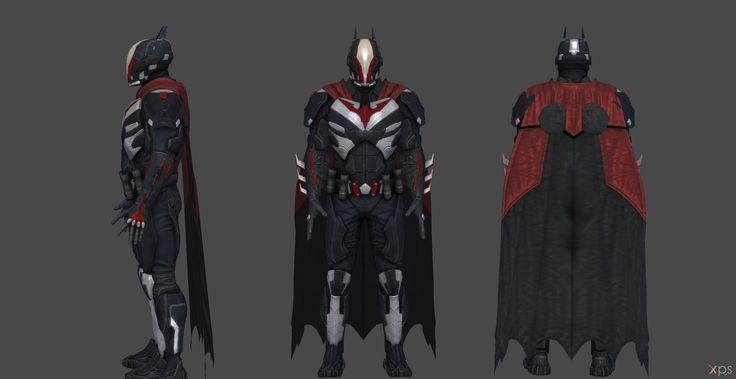 Batman Injustice 2 Final Upgrade Uniform by SSingh511