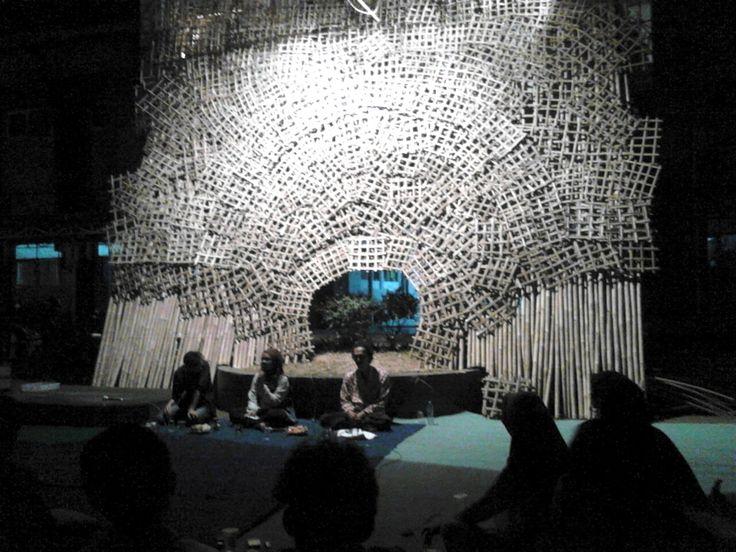 Raut Seni Instalasi saat Pameran dan Diskusi Seni Instalasi. Foto: Rachma Amalia