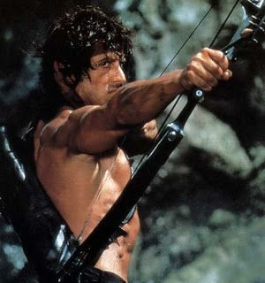 "Sylvester Stallone as Rambo in ""Rambo: First Blood pt. II"" (1985)"