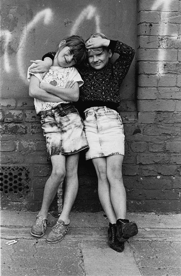 1987 London in the fields Irish gypsy children