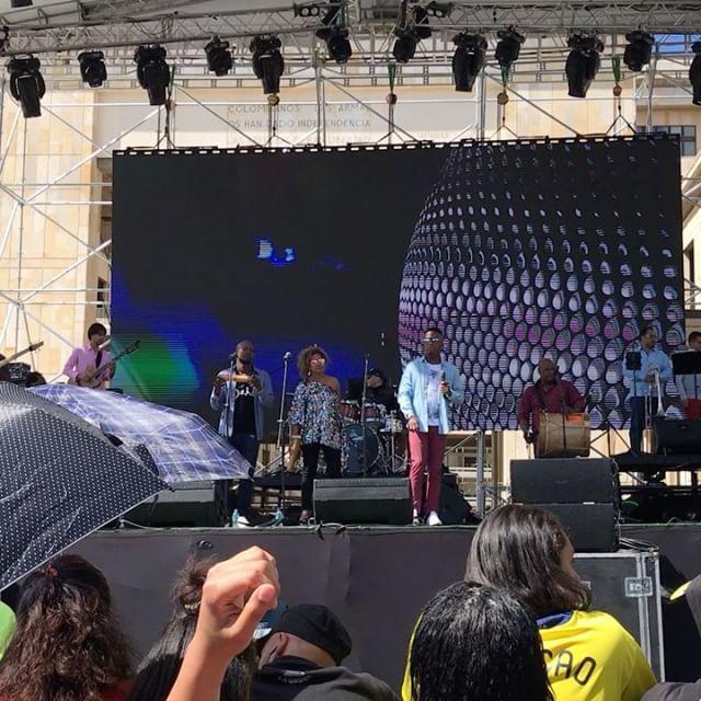 """Concert in Plaza de Bolivar"" by @jonprt31. #ganpatibappamorya #dilsedesi #aboutlastnight #whatiwore #ganpati #ganeshutsav #ganpatibappa #indianfestival #celebrations #happiness #festivalfashion #festivalstyle #lookbook #pinksuit #anarkali #festivaloutfit #desigirl #nehamalik #model #actor #blogger #instagood #instadaily #instalike #follow #indiangirl #indianfashion #indianbeauty #instalovemakeup #love #me #smile #cute #photooftheday #tbt #followme #girl #beautiful #happy #picoftheday #food…"