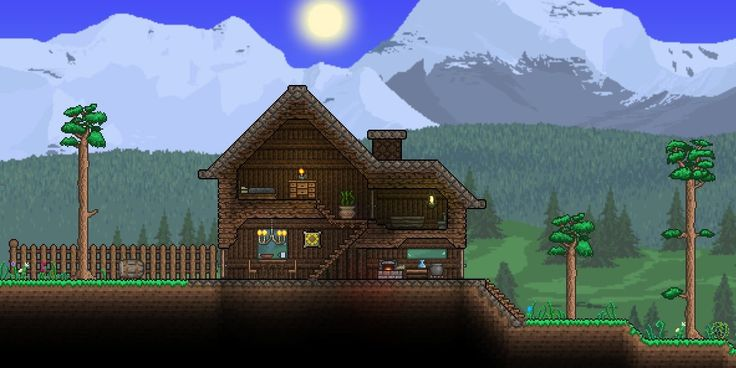 how to build a treehouse in terraria