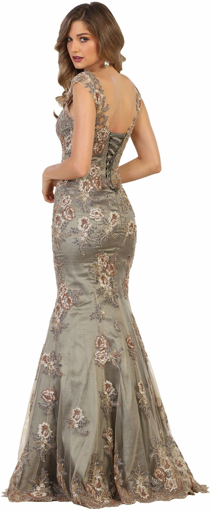 May Queen Corset Back Prom Evening Gown Walmart Com Evening Gowns Formal Dress Shops Formal Dresses [ 1700 x 704 Pixel ]