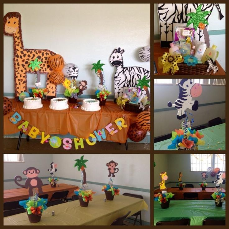 Perfect Safari Baby Shower By Jantal Flowers