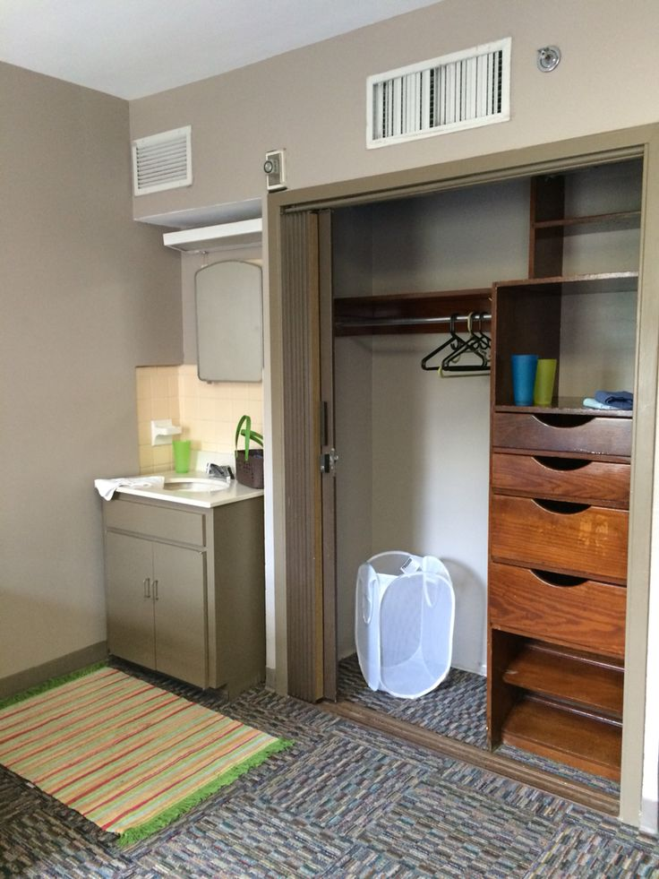 Rooms In Broussard Hall Are Spacious With Built In Closets And Dresser  Drawers.