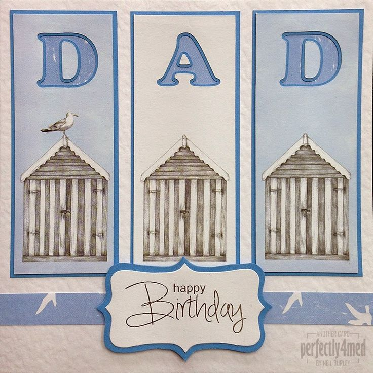 Craftwork Cards Blog: Father's Day Card in Harbour Boulevard by Neil Burley
