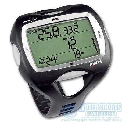 Mares nemo wide 2 #scuba diving wrist #computer new larger #display and digits.,  View more on the LINK: 	http://www.zeppy.io/product/gb/2/172239815632/