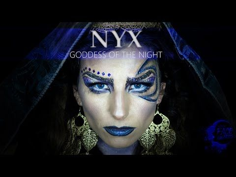 YouTube Top 20 Face Awards Greek Goddess of the Night