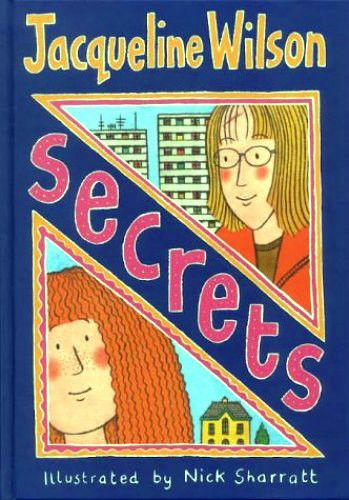 SECRETS   By JAQUELINE WILSON  PAPER BACK BOOK GREAT READ