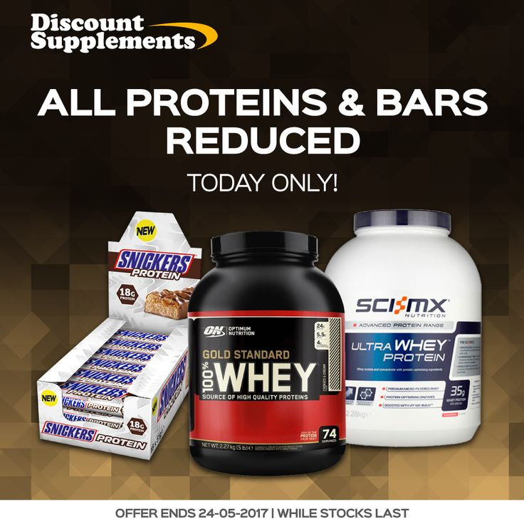 All Proteins & Bars REDUCED   All top brands including ON, PhD, BSN, Quest & more Today only at: www.discount-supplements.co.uk/protein-and-bar-sale #GoldStandardWhey #proteinbars #protein #diet #whey #gym #bodybuilding #fit #fatloss #sport
