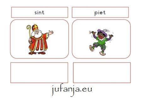 Juf Anja: Stempelblad/ Stempelboekje sinterklaas