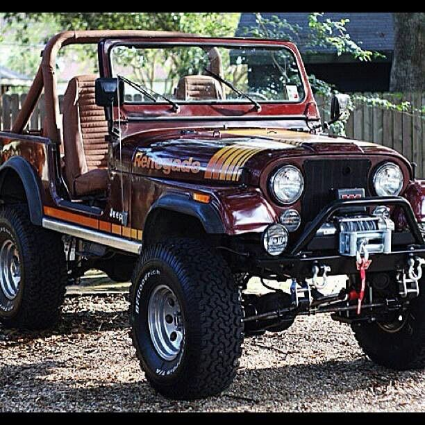 Nice CJ-7 Renegade