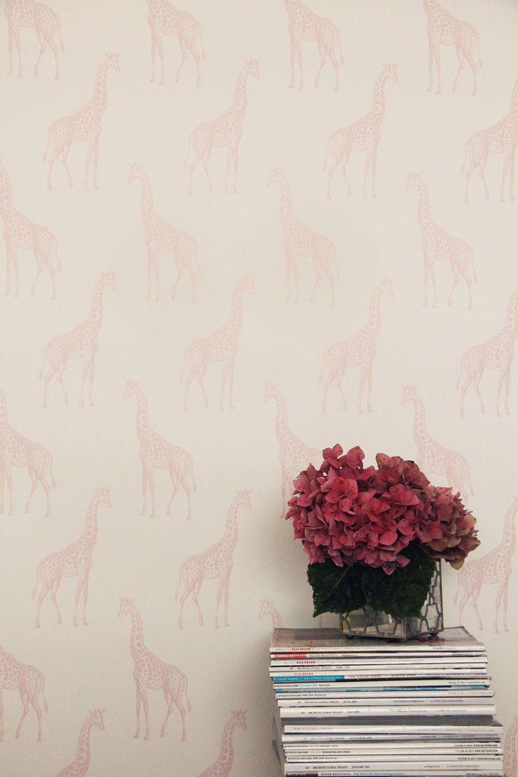 Http://abnormalsanonymous.com/ · Pink GiraffeModern WallpaperKid ...