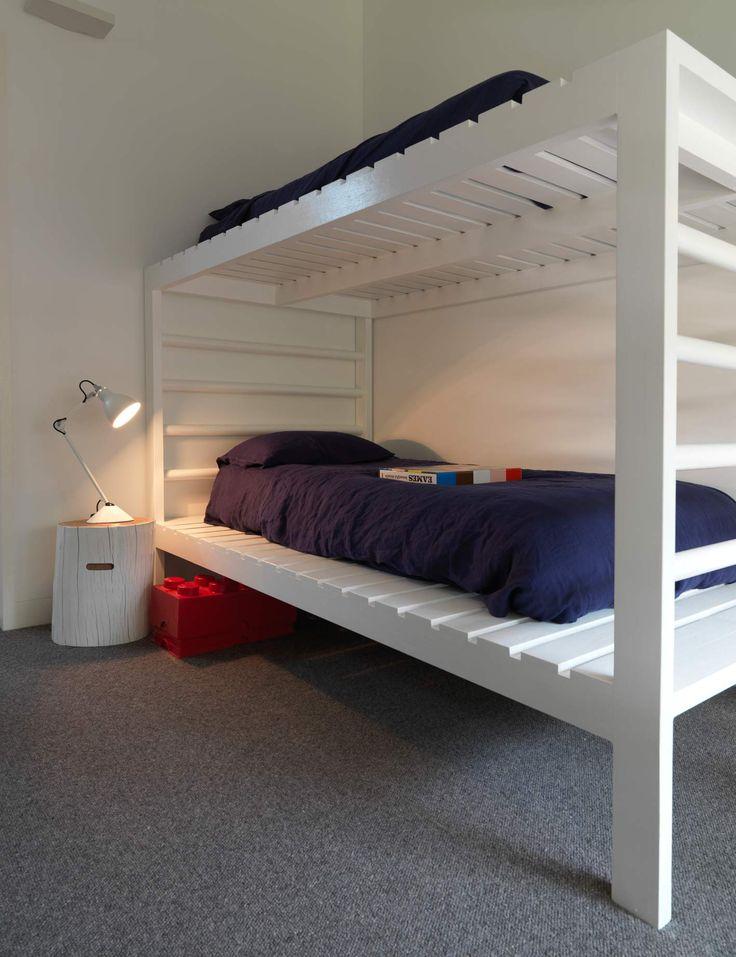 Interiors | alwill  #bunkbed #bedroom #wood #white