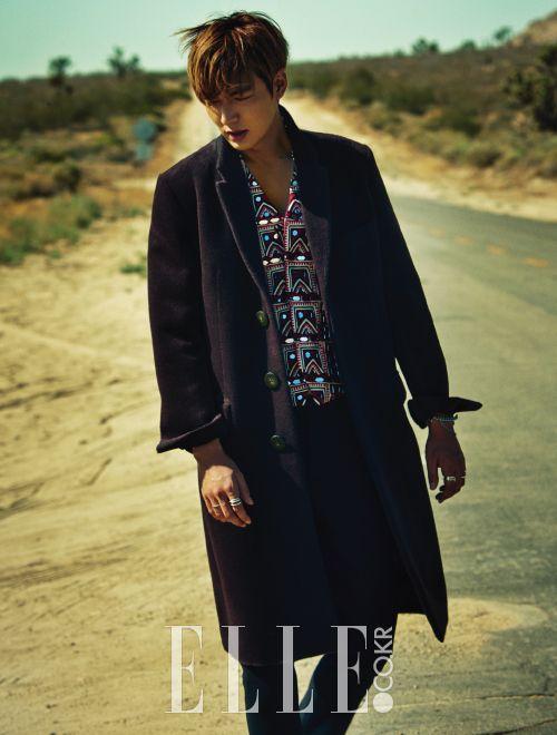 Lee Min Ho - Elle Magazine August Issue '15