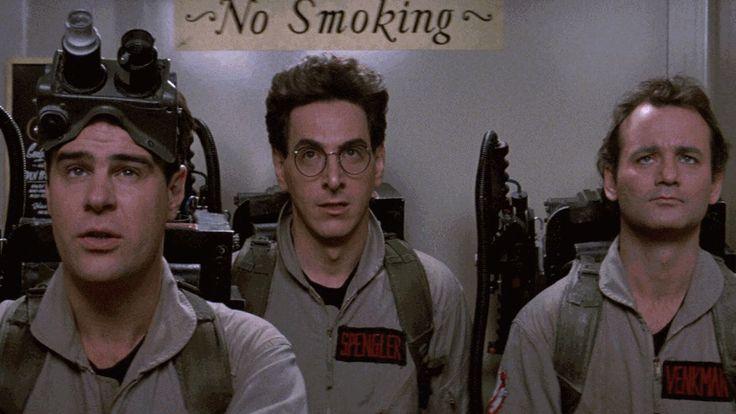 I blame myself. So do I... #Ghostbusters (1984).