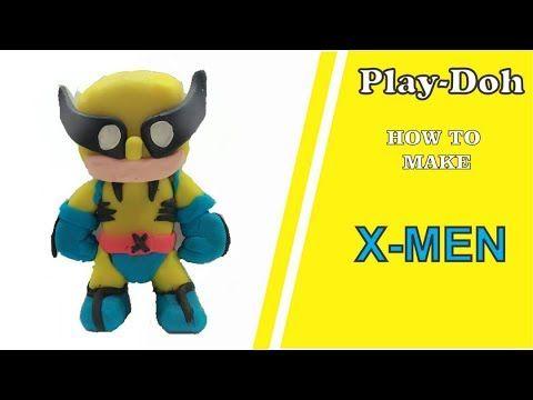 X- MEN TUTORIAL HOW TO MAKE X- MEN FROM PLAYDOUGH