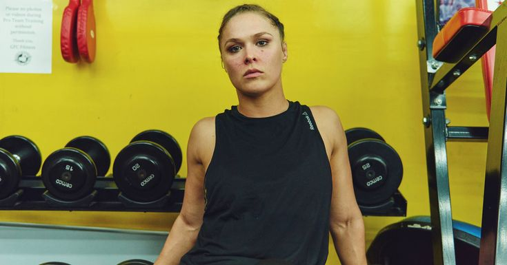 The undefeated mixed martial arts fighter wants to both fill and break the mold that the entertainment industry has for women.