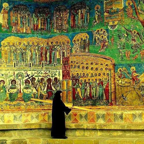 Voronetz Monastery, Romania