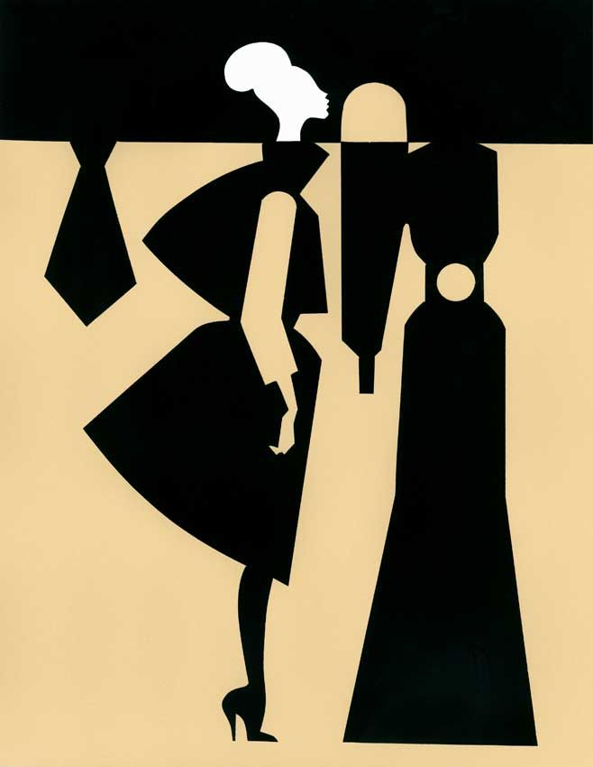 Piet Paris #fashionillustration