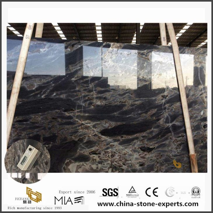 Buy Lava Ocean Marble Slab And Block For Dining Table Top With China Marble Suppliers Price
