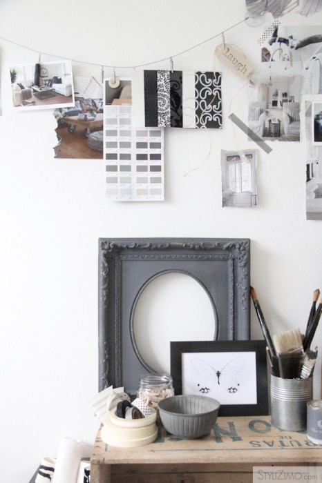 Mood board interior