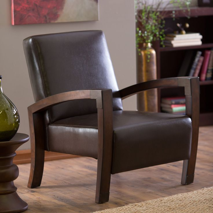 Have to have it. Belham Living Frederick Mission Accent Chair - $289.98 @hayneedle