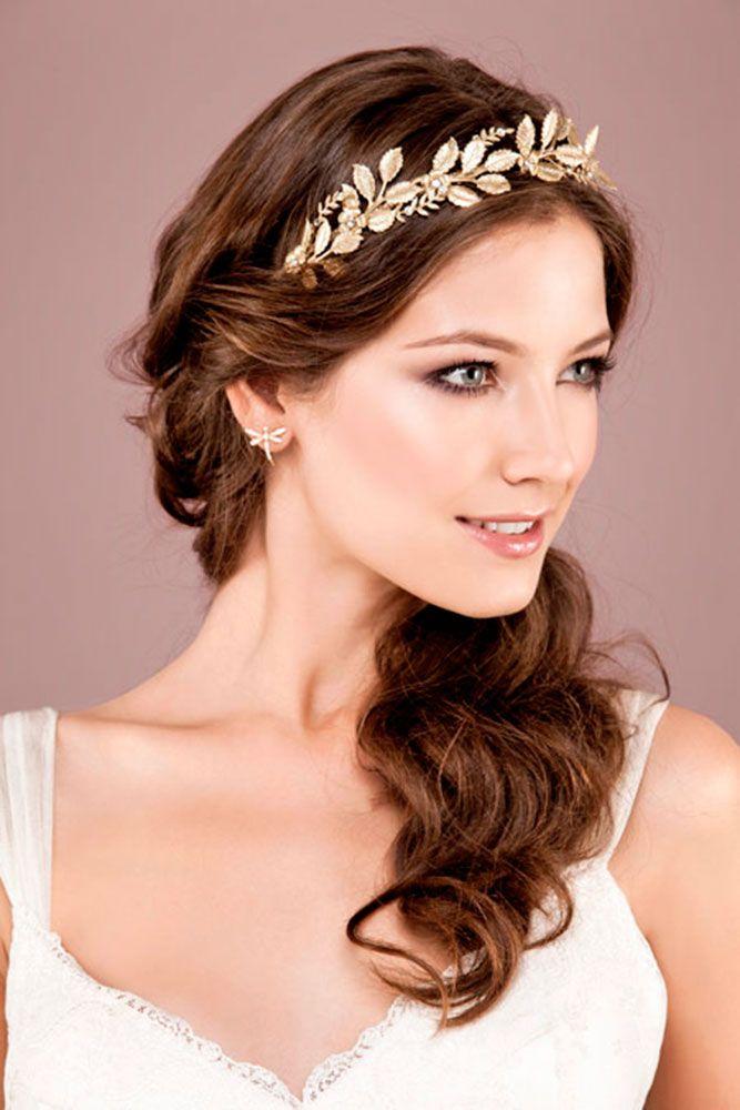 30 Greek Wedding Hairstyles For The Divine Brides Greek Hair