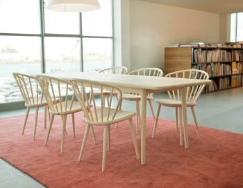 Miss Holly table and chairs - new design from Swedish STOLAB - always fresh, neat, organic.