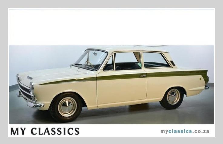 Classic Car For Sale: 1965 Lotus Cortina (£46000)