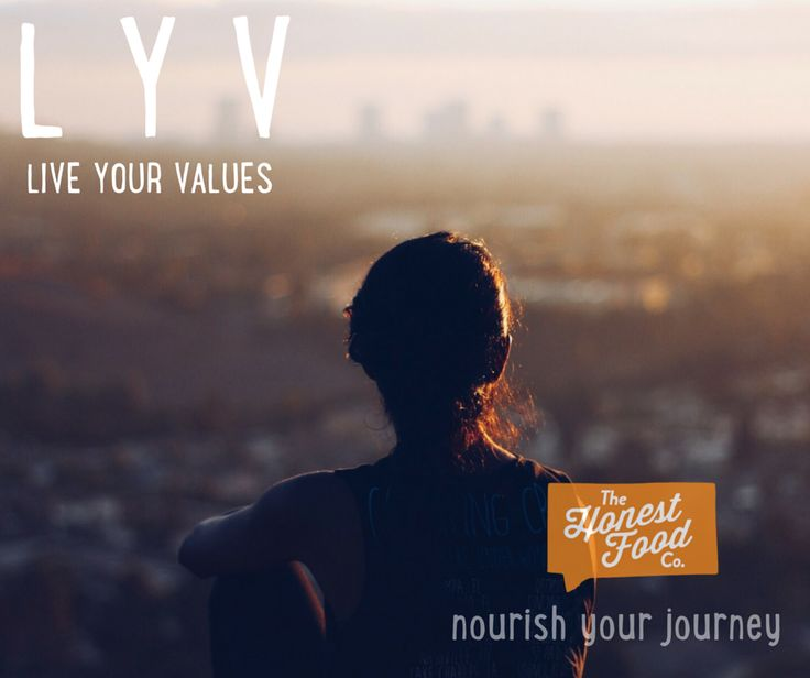Find out what your values are, other than money, family, business