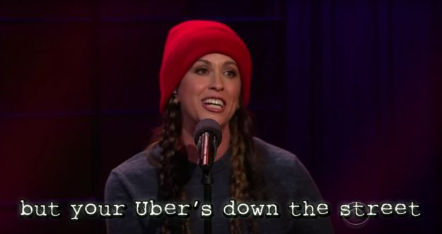 "It's a free ride… | Alanis Morissette Updated ""Ironic"" Lyrics With Modern Struggles And It's Hilarious"