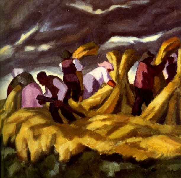 MARCUS COLLIN  Harvesters (1915) Finnish