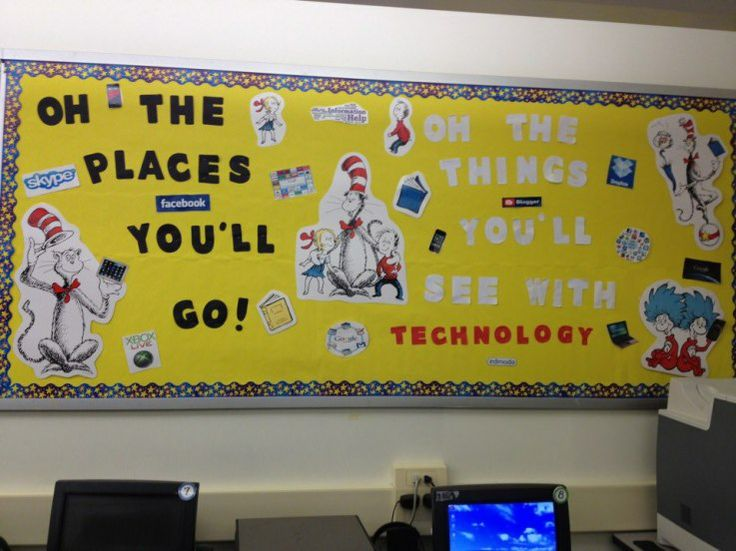 Computer Lab Decorations Elementary ~ Best images about computer lab bulletin boards on