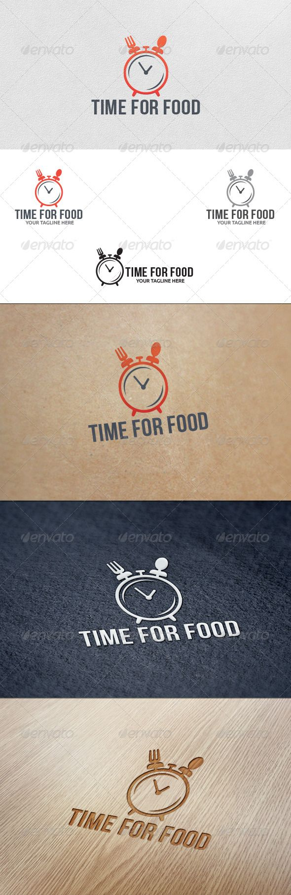 Food Time - Logo Template - Food Logo Templates