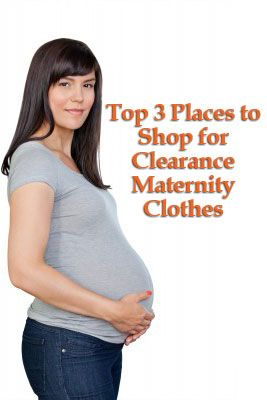 Clearance maternity clothing