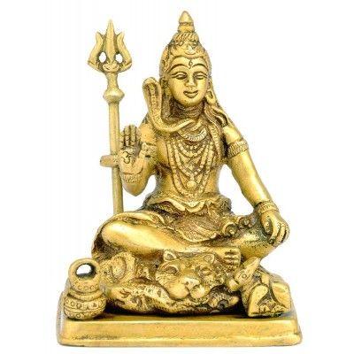 Lord Mahadev Shiva - Brass Statue